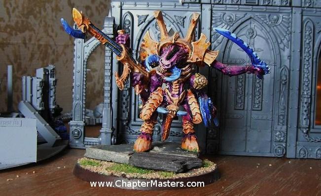 MK1 Tyranid Hive Tyrant, Tyranid Hive Tyrant, Old hive Tyrant, Rouge Trader Hive Tyrant, Hive Tyrant
