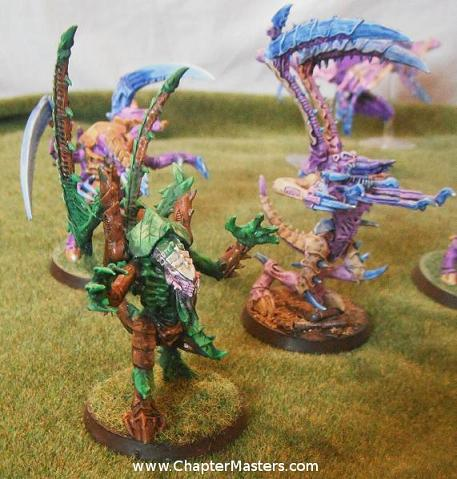 Lictor, Tyranid Lictor, MK1 lictor, MK2 lictor, MK3 lictor, Deathleaper, 1st edidtion lictor, 2nd edidtion lictor, 3rd edition lictor, 4th edidtion lictor. Camo lictor