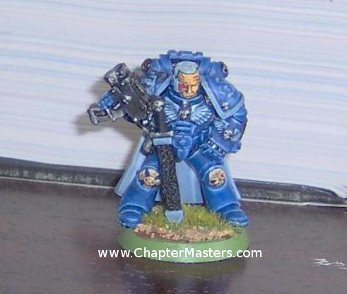 1992 Games Day Captain, Limited Edition Space Marine, Limited Edition Space Marine Captain, 9th Company Captain, Ultramarine Captain