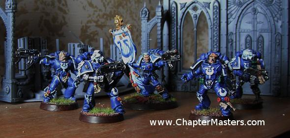Tyranid hunters, Tyranic war </p><br /><br /><br /><br /><br /><br /><br /> <p>Veterans, Ultramarine Tyranid hunters, 2010 Australian Golden Demon