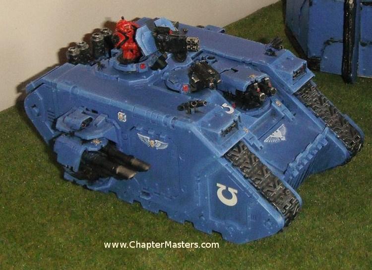 Landradier, Landradier Mk3, Landraider MKIII, Land Raider
