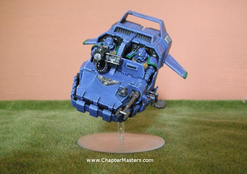 Land Speader, MK3 land speader, MKIII land Speader, Ultramarine Land Speader, Forth Conmany Land Speader