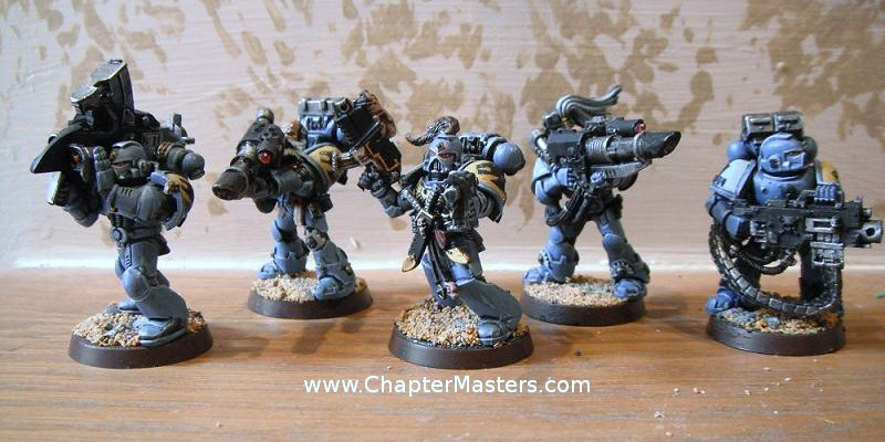 Warhammer 40k Conversion Bits Space Wolves Dreadnought Blizzard Shield /& Fist