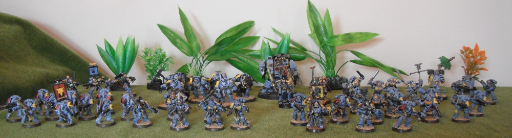 Space Wolves army, spacewolves, RTB01 grey hunters , space wolves 5th edition army, Space wolves army 2011
