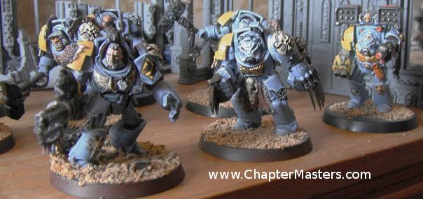 Space Wolf Terminators