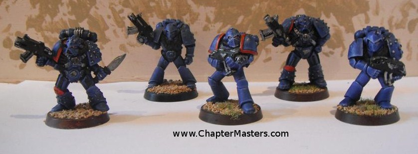 Ultramarine Transition Combat Squad