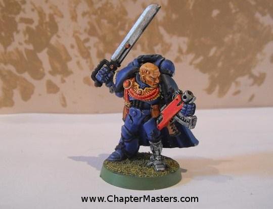 Ultramarine Vetran Captain