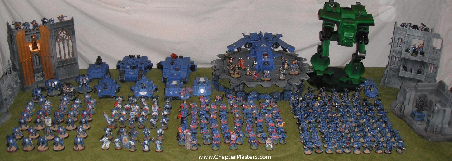 big space marine army