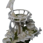 New Eldar buildings from miniaturescenery.com