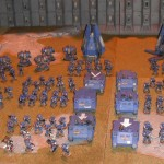 Today's Picture: Ultramarine 2nd Company from Games Day UK 2012