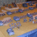 Today's Picture Ultramarine 3rd Company from UK Games Day 2012
