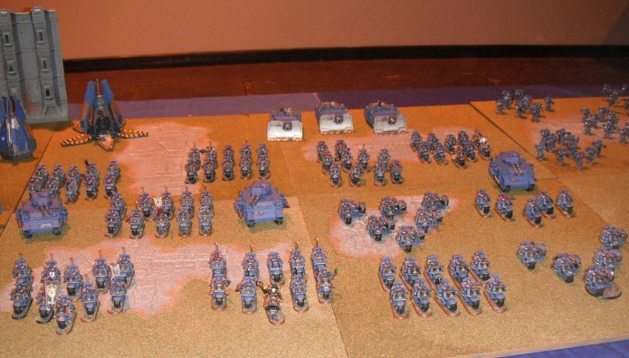 Ultramarine Bike Company at Games Day 2012
