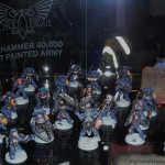 Today's Picture: Best Painted 40k Army from the Schools League at Games Day