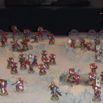 Today's picture Blood Ravens army at UK Games Day 2012