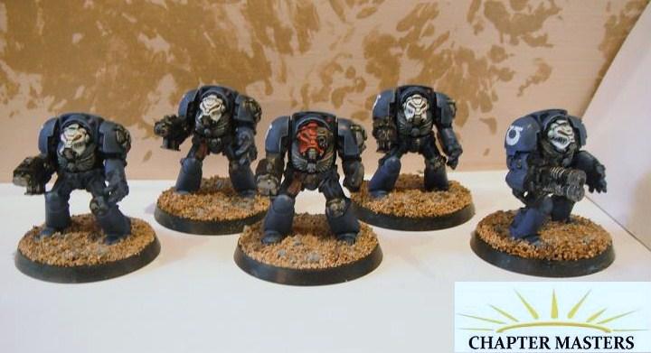 Ultramarine Space Hulk Terminators