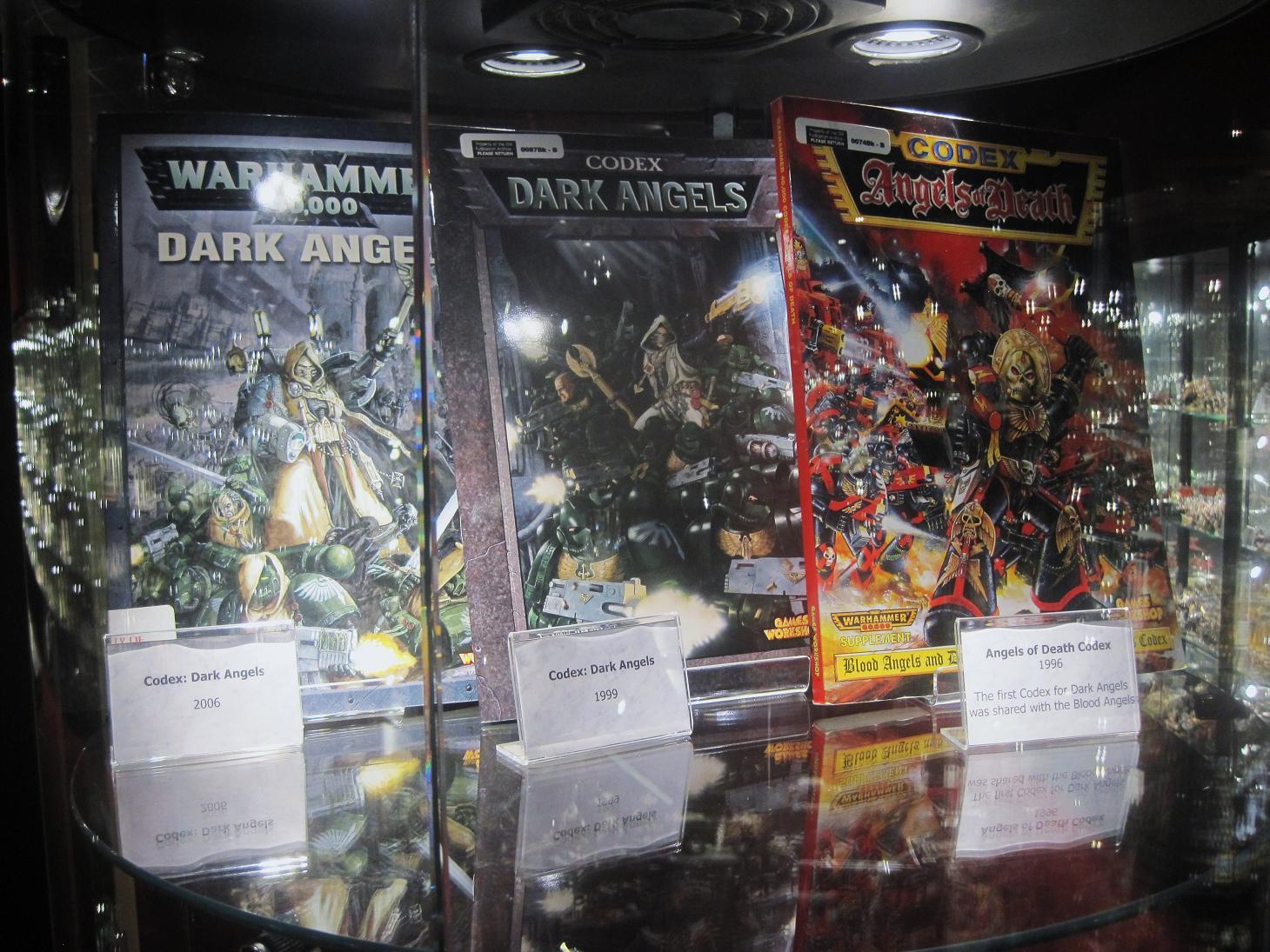 Old Dark Angel Codexs