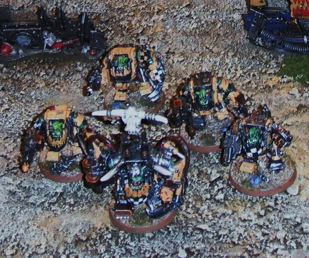 Warboss and Nobz