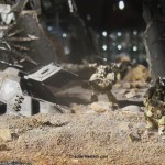 Plague Marines, Crashed Land Speader