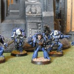 Today's Picture: Space Marines with Terminator hounours (SternGaurd Vetrans)