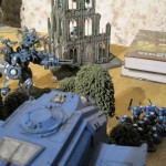 Tau Ultramarine Battle Turn 2