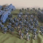 Painting Armies for Apocalyse