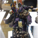 Purple Chaos Space Marine
