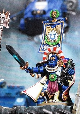 New Space Marine Captain