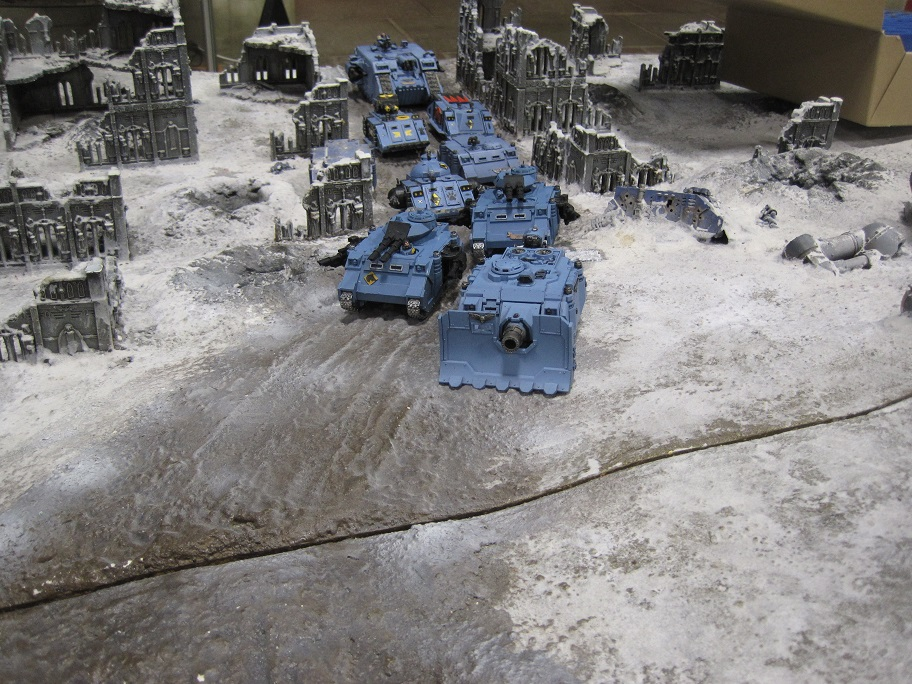 Fort Pain, Space Wolves tanks