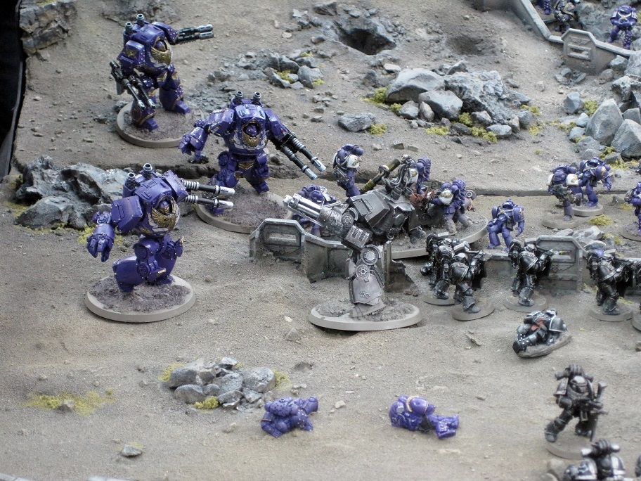 EMPEROR'S CHILDREN LEGION CONTEMPTOR DREADNOUGHTS - Drop Site Massacre
