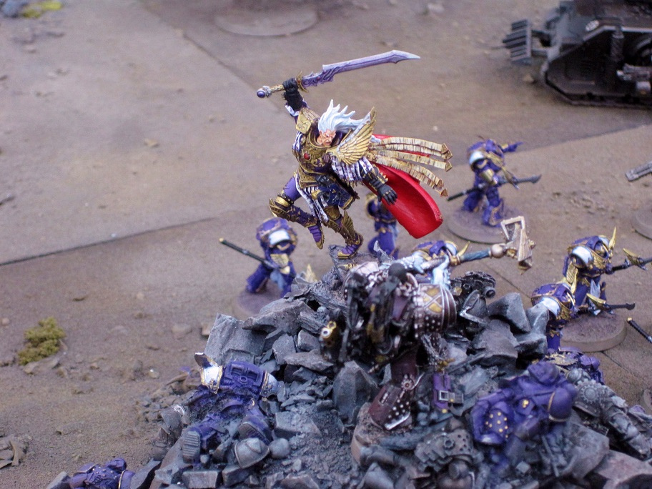 FULGRIM PRIMARCH OF THE EMPEROR'S CHILDREN - Drop Site Massacre