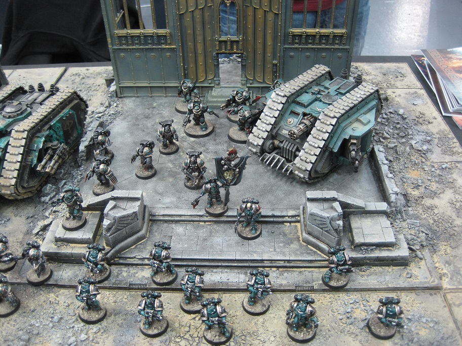 Sons of Horus at UK Games Day 2013