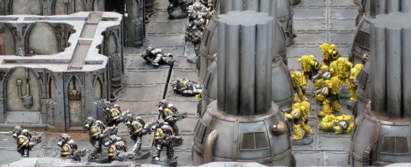 Forge World: Imperial Fist Boarding Action Dispaly Board