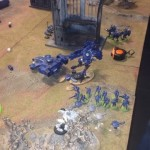 New blog update – Tau vs Space Wolves Battle Pictures