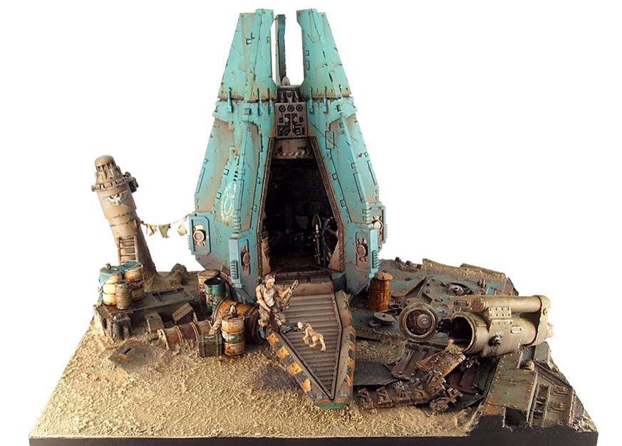 Golden Daemon 2008 Winning diorama