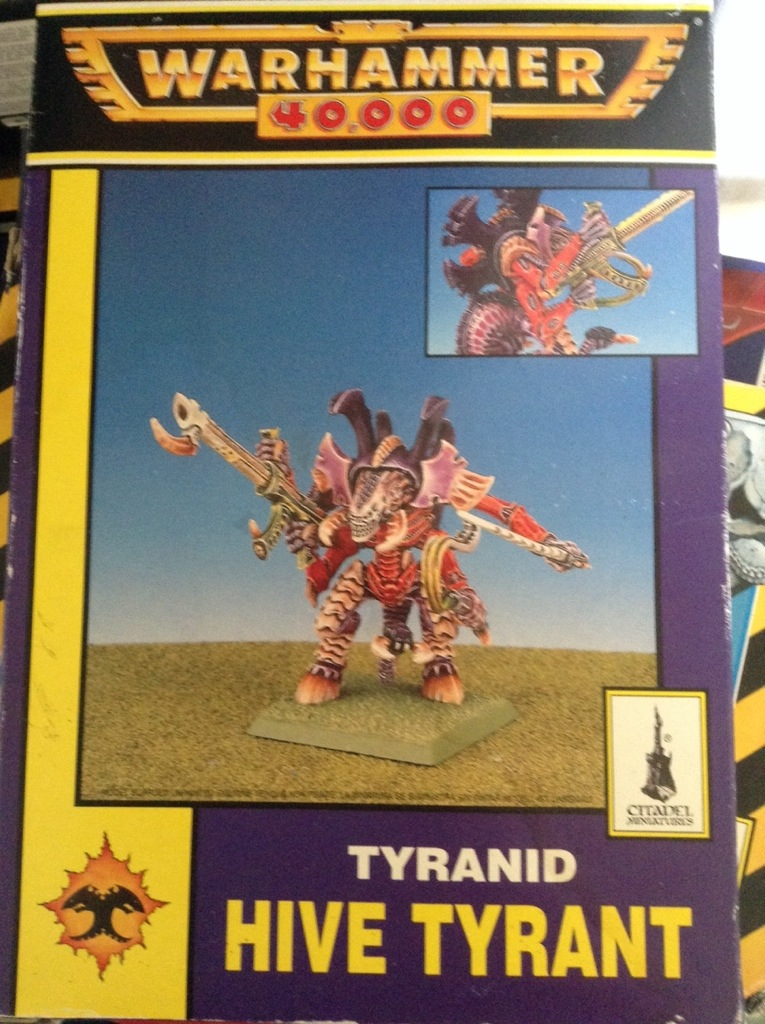 Hive Tyrant 2nd edition