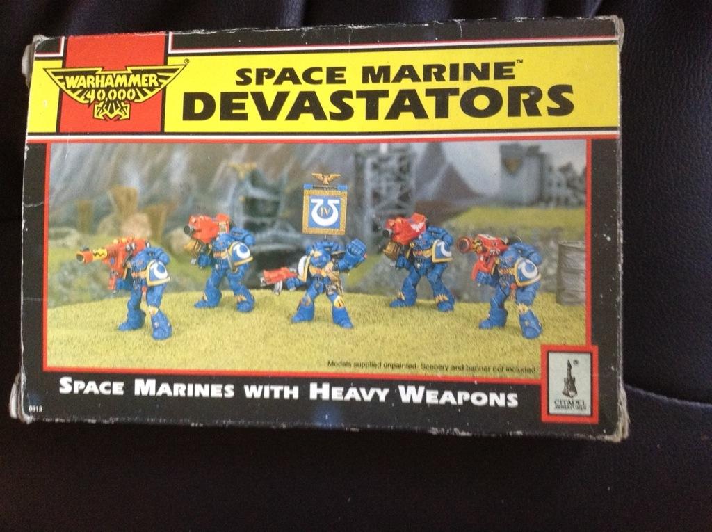 Space marine Devastators 2nd edition