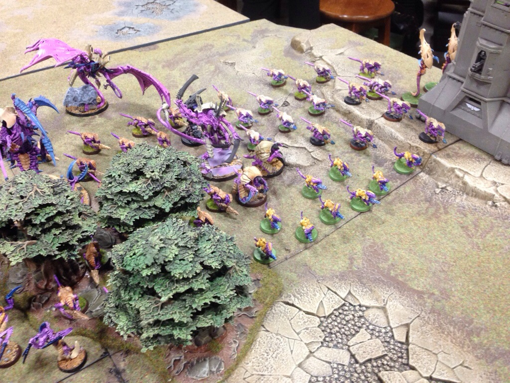 Tyranid Deployement