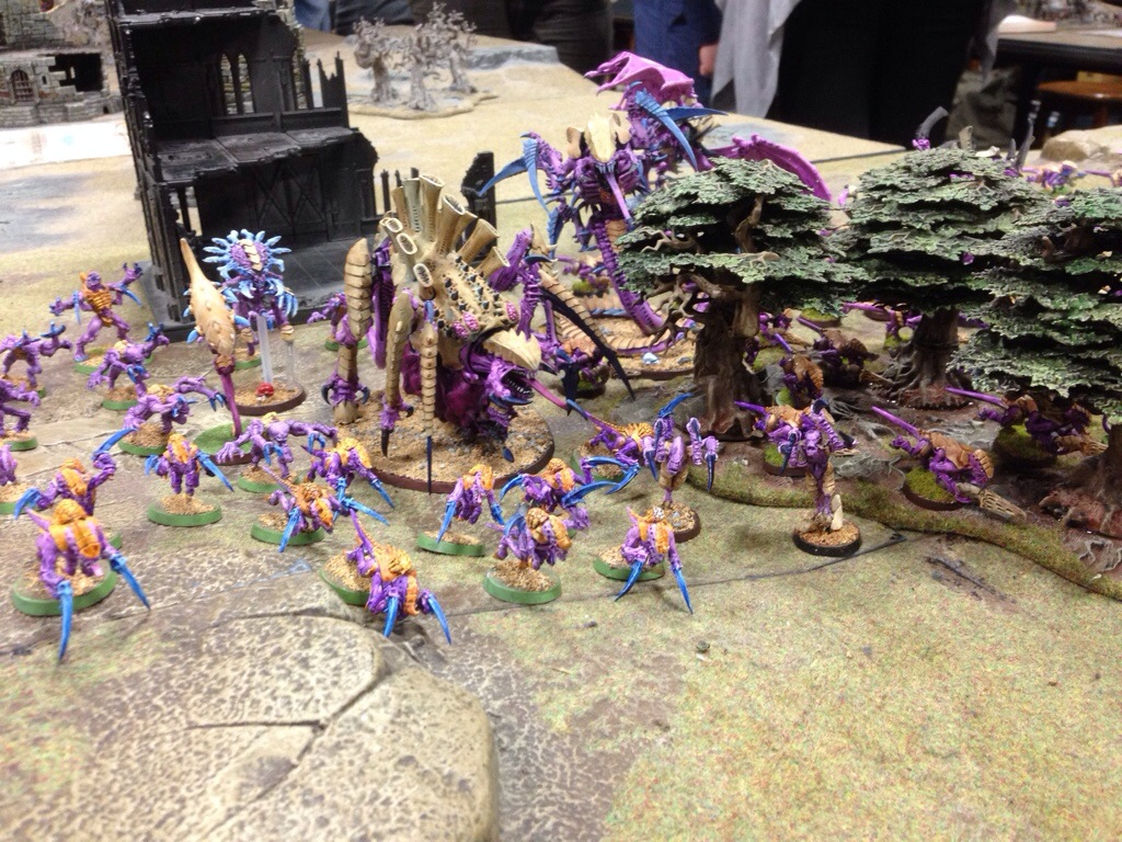 Tyranids ready to advance