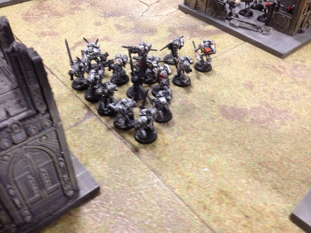 Grey Knight Purifiers ready to retrieve the relic