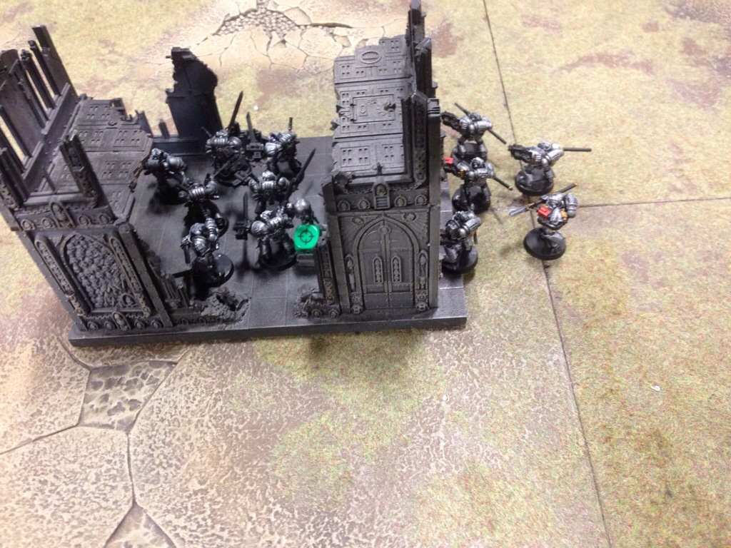 Grey Knights jump to relic back to the ruins