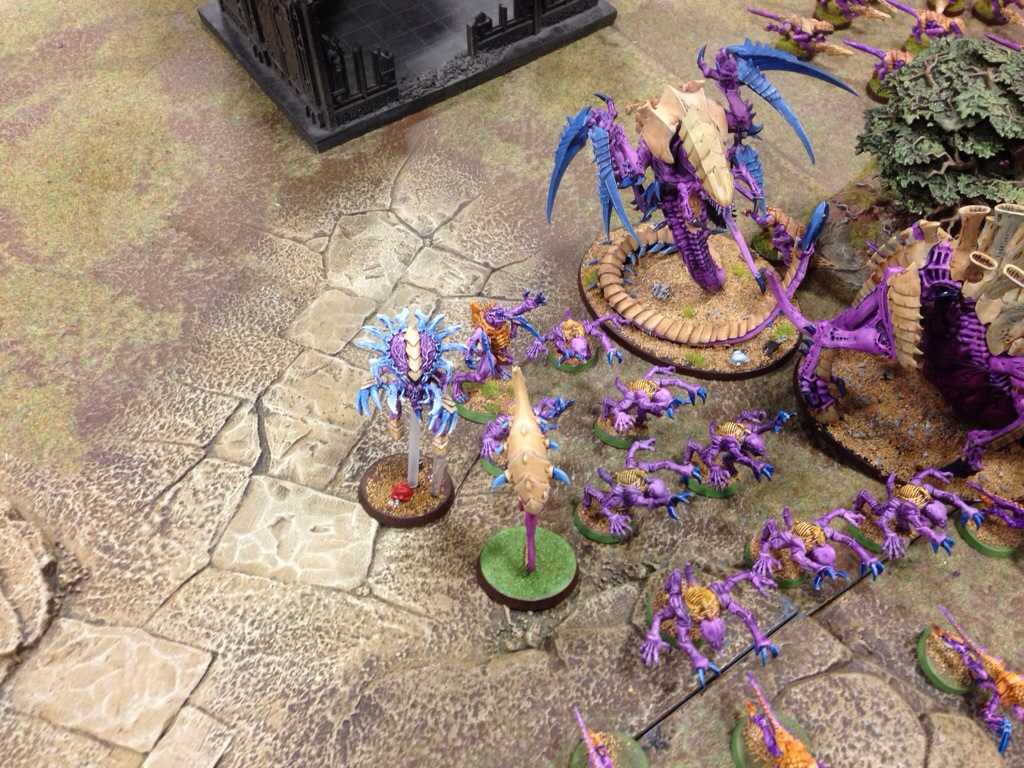 Zonethrops invoke warp blast