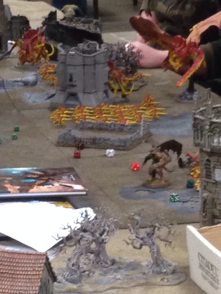 Random Battle at Warhammer world