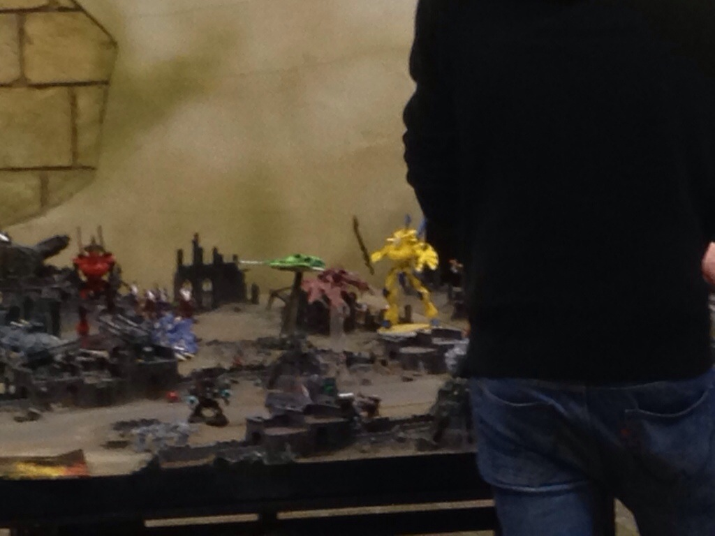 Th Bridge board at Warhammer world