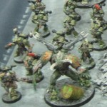 Plague Ridden Armies on Parade Games Day 2013