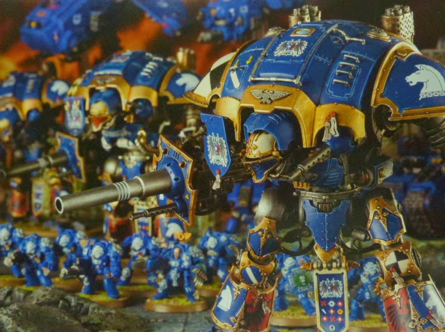 Imperial Knights White Dwarf 4 back cover