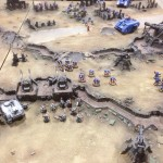 Battle Report Ultramarines vs Grey Knights on J'minan Bridge