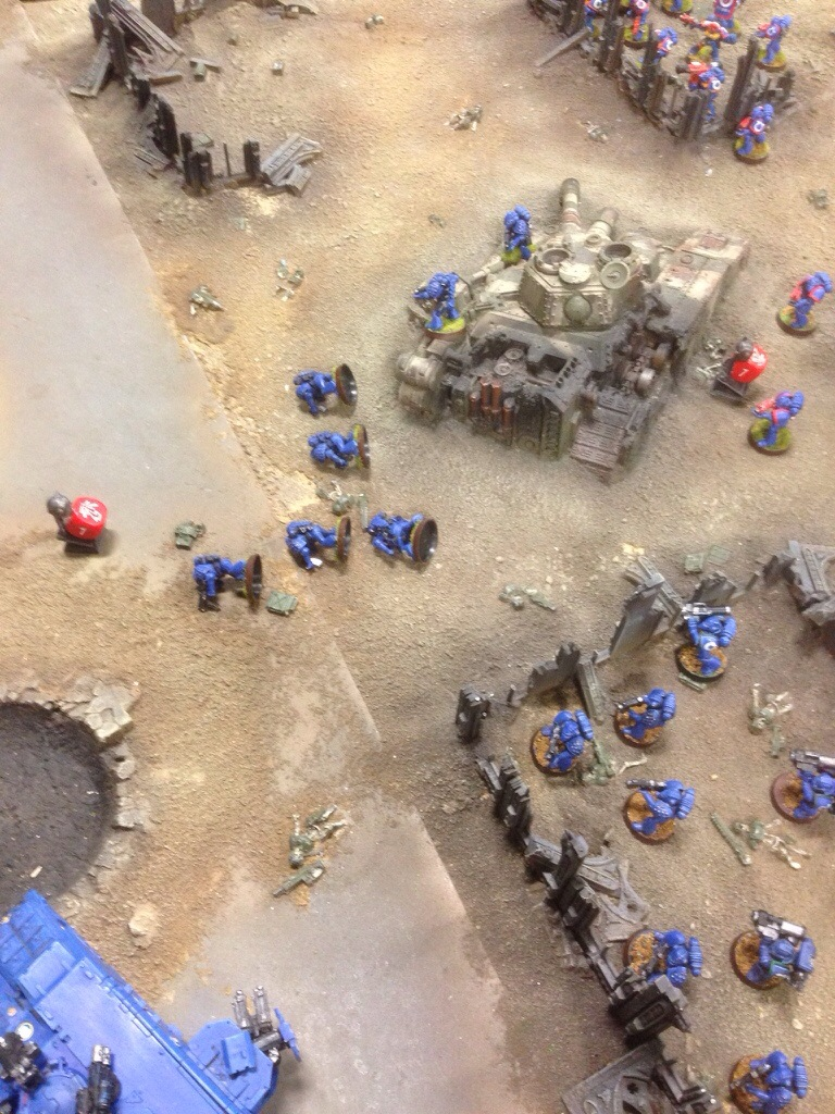 Ultramarines are removed from the objectice