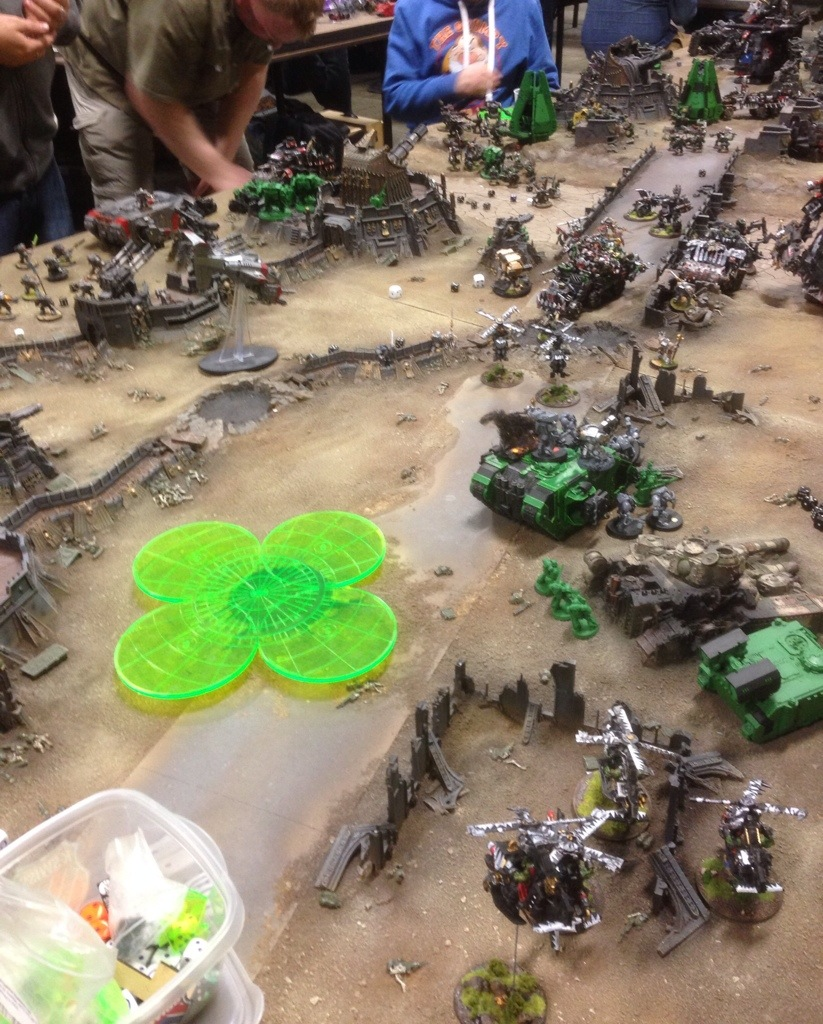 Marines vs Orks on J'migan Bridge