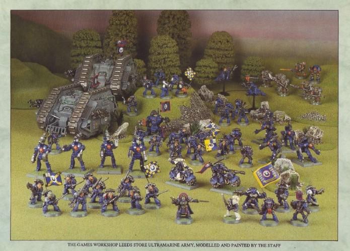 Rogue Trader Ultramarine Army
