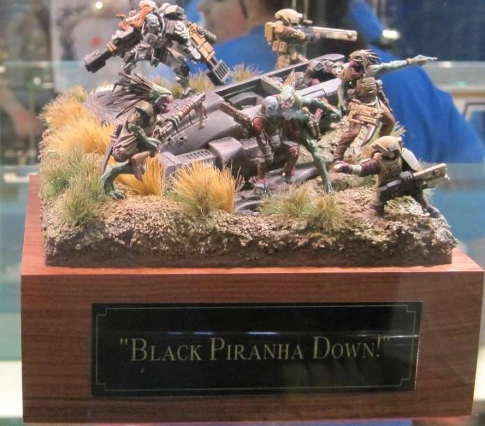 Blcak Piranha down